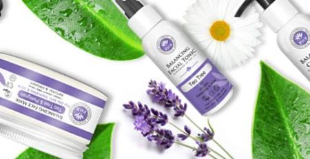 Balancing Skin Care Range