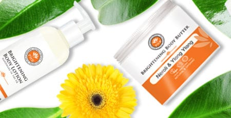 Brightening Body Care Range