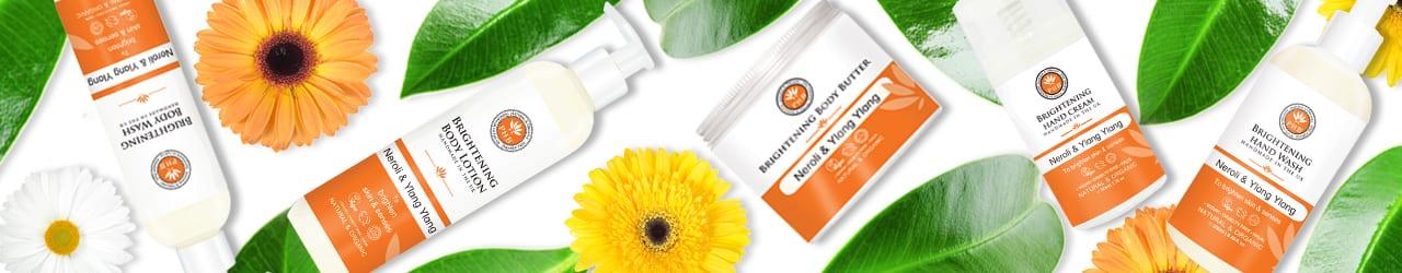 Brightening Body Care Range