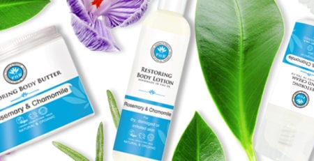 Restoring Body Care Range