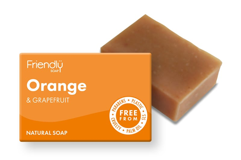 Orange & Grapefruit Soap
