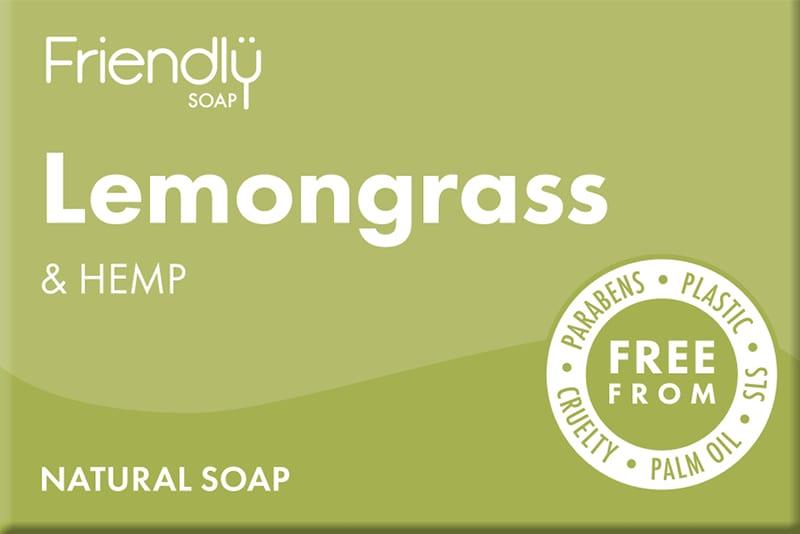 Lemongrass & Hemp Soap