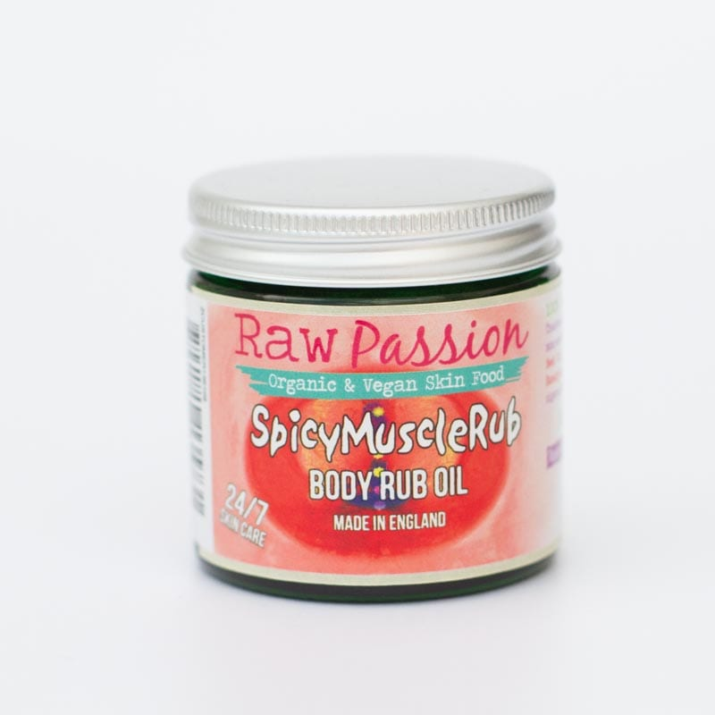 Spicy Muscle Rub