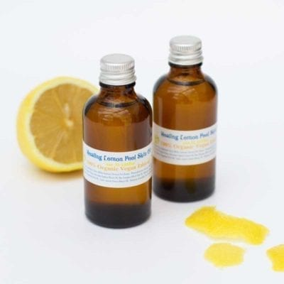 Healing Lemon Peel Skin Oil