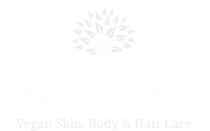 its cruelty free white logo