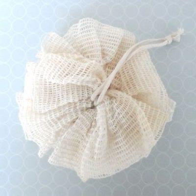 Natural Ramie Fibre Body Scrunchie