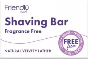 Fragrance Free Shaving Bar